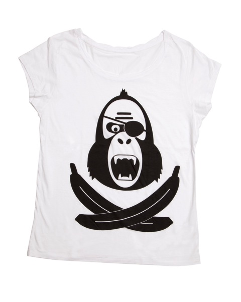 King Kong Pirate Girlie Shirt - Bild 1