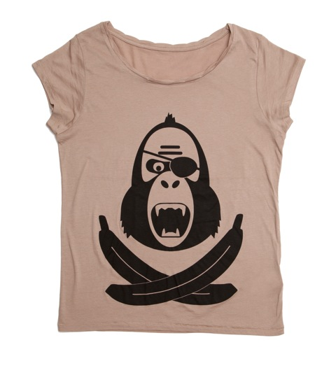 King Kong Pirate Girlie Shirt - Bild 2