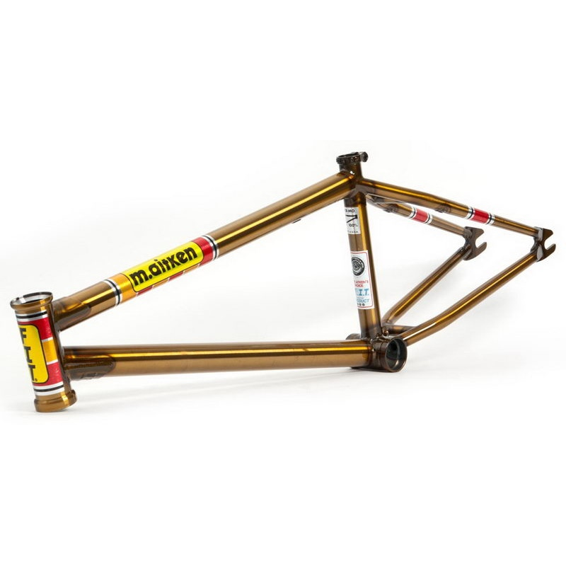 "Fit Bikes Moto Mike Frame Farbe: Gold, 02 Oberrohr länge: 21,0""TT) - Image 1"